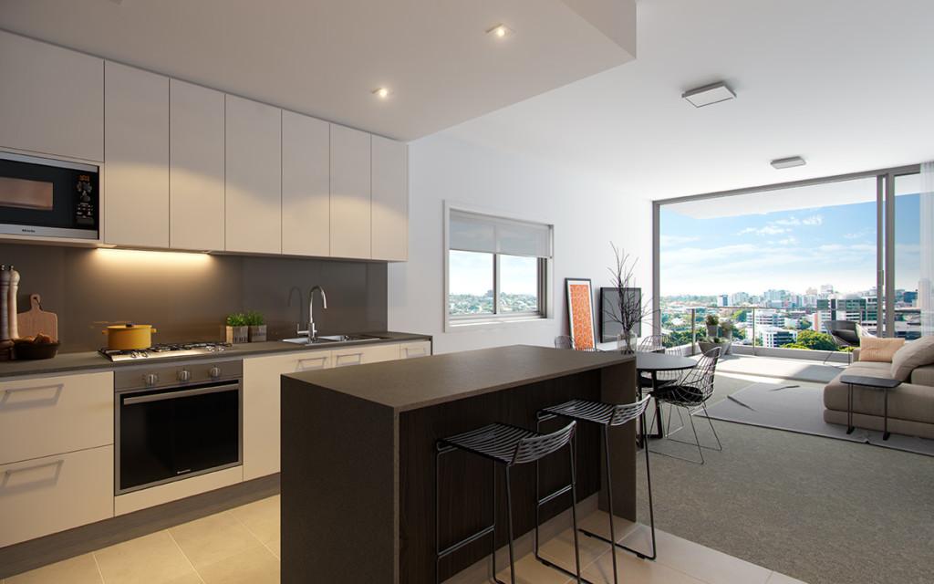 Savoir Faire Residences II Apartment savoir faire residences Savoir Faire Residences II - Milton | Brisbane 1419 ApartmentA2 R002