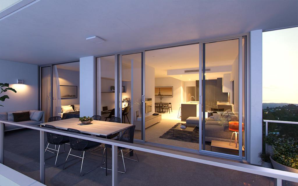 Savoir-Faire Residences II terrace savoir faire residences Savoir Faire Residences II - Milton | Brisbane 1419 ApartmentG R002
