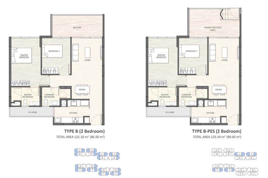 axis 2-bedroom-typeB axis residences cambodia Axis Residences Cambodia | Showflat Hotline +65 61007122 2 bedroom typeB