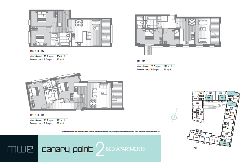 Marine Wharf East floor plan 2 bedroom marine wharf east Marine Wharf East -Canary Wharf | Zone 2 London UK Property Investment 2015 04 03 19 58 16 Marine Wharf East brochure 1 9 14