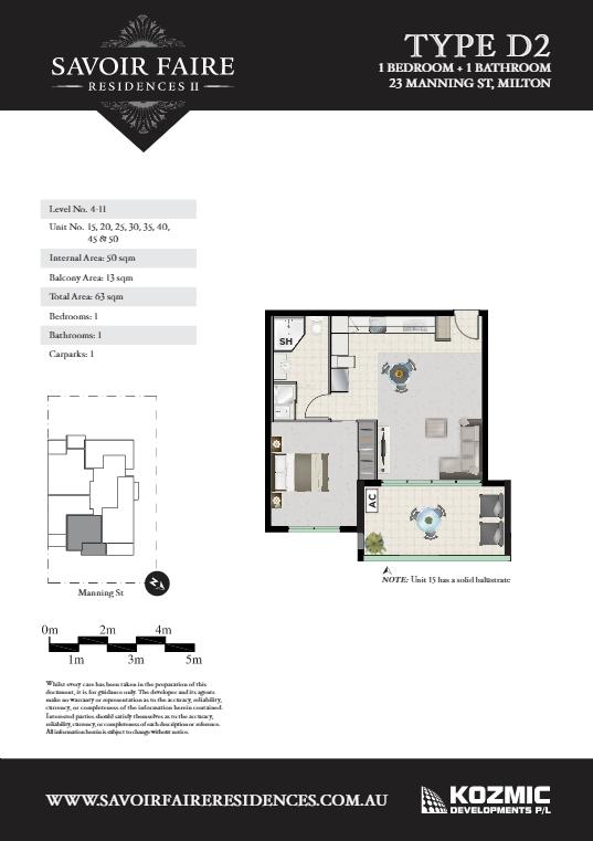 Savoir Faire Residences II Floor plans D2 savoir faire residences Savoir Faire Residences II - Milton | Brisbane 2015 04 03 21 49 56 Dropbox TypeD2