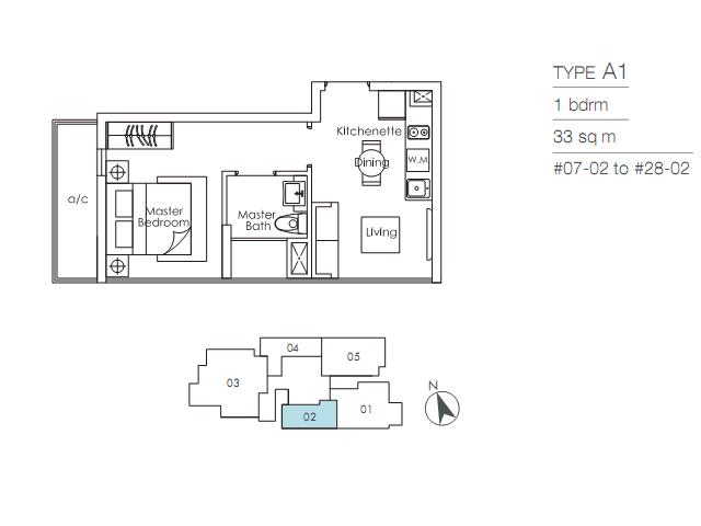 SkySuites 17 floor plan A skysuites 17 SKYSUITES 17 @ Balestier | Showflat Hotline 61007122 217989 orig