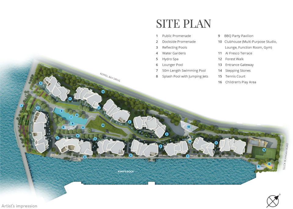 Corals at Keppel Bay site plan  corals at keppel bay View Corals at Keppel Bay Actual Units | Showflat Hotline +65 61007122 CoralsatKeppelBaysiteplan2
