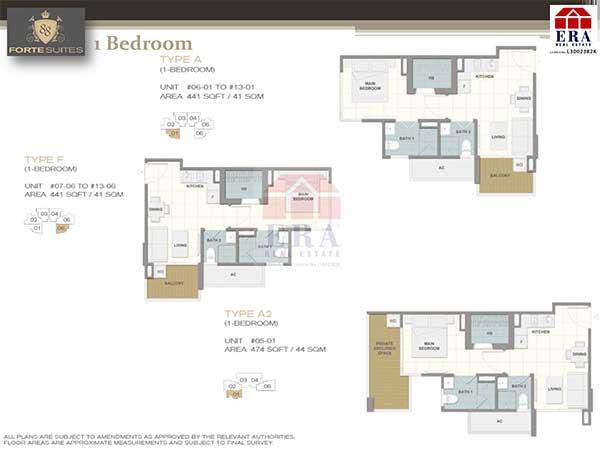 Forte-Suites-Floor-Plan forte suites Forte Suites Condo @ Rangoon | Showflat Hotline 61007122 Forte Suites Floor Plan