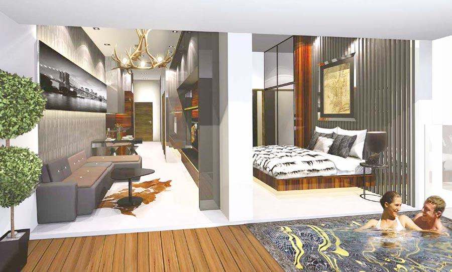 Forte-Suites-Penthouse forte suites Forte Suites Condo @ Rangoon | Showflat Hotline 61007122 Forte Suites Penthouse