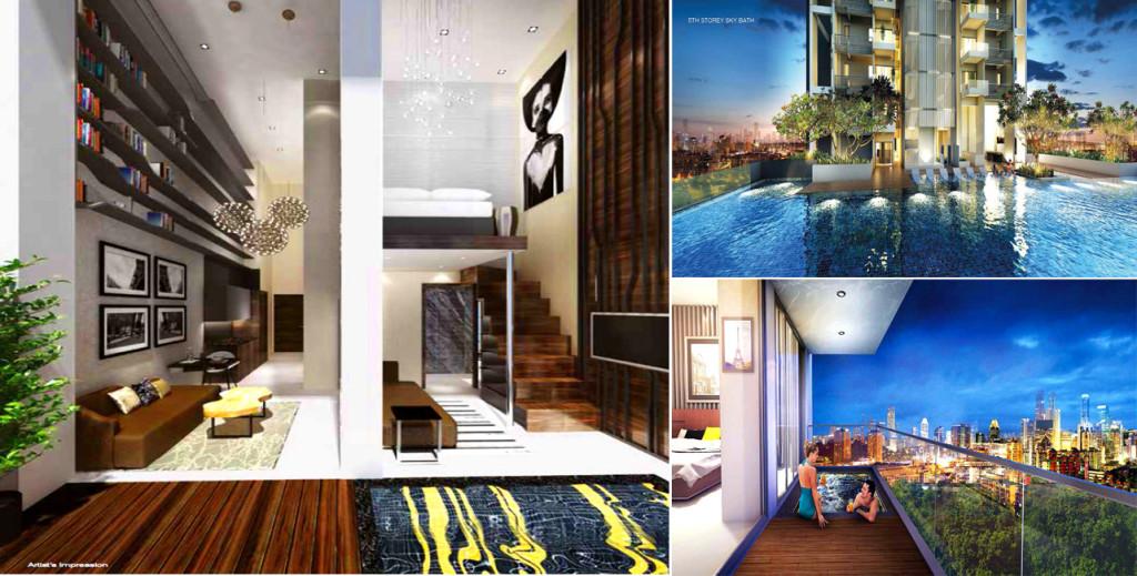Forte-Suites amenities forte suites Forte Suites Condo @ Rangoon | Showflat Hotline 61007122 Forte Suites T2