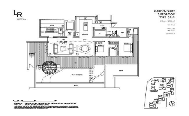 Leedon-Residence floor plan leedon residence Leedon Residence | Showflat Hotline 61007122 | View Actual Unit LR 5A P1