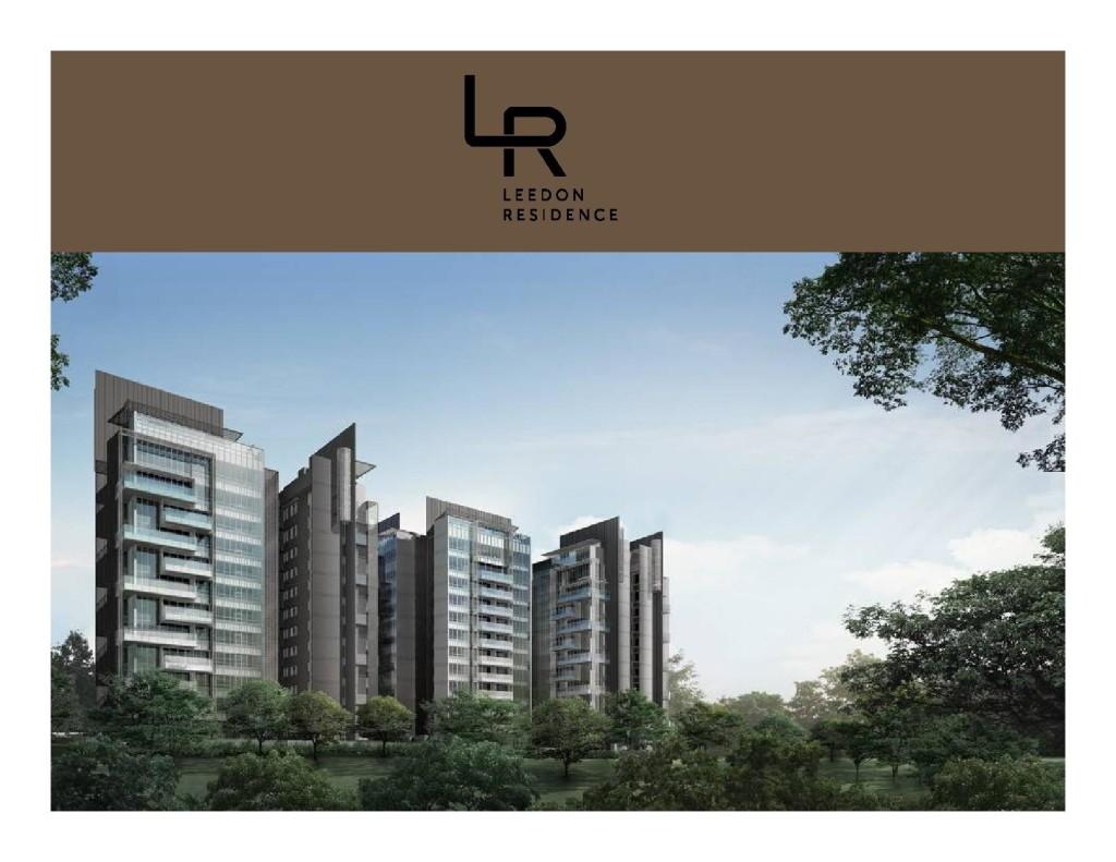 Leedon-Residence-Presentation leedon residence Leedon Residence | Showflat Hotline 61007122 | View Actual Unit Leedon Residence Presentation Kit page 001