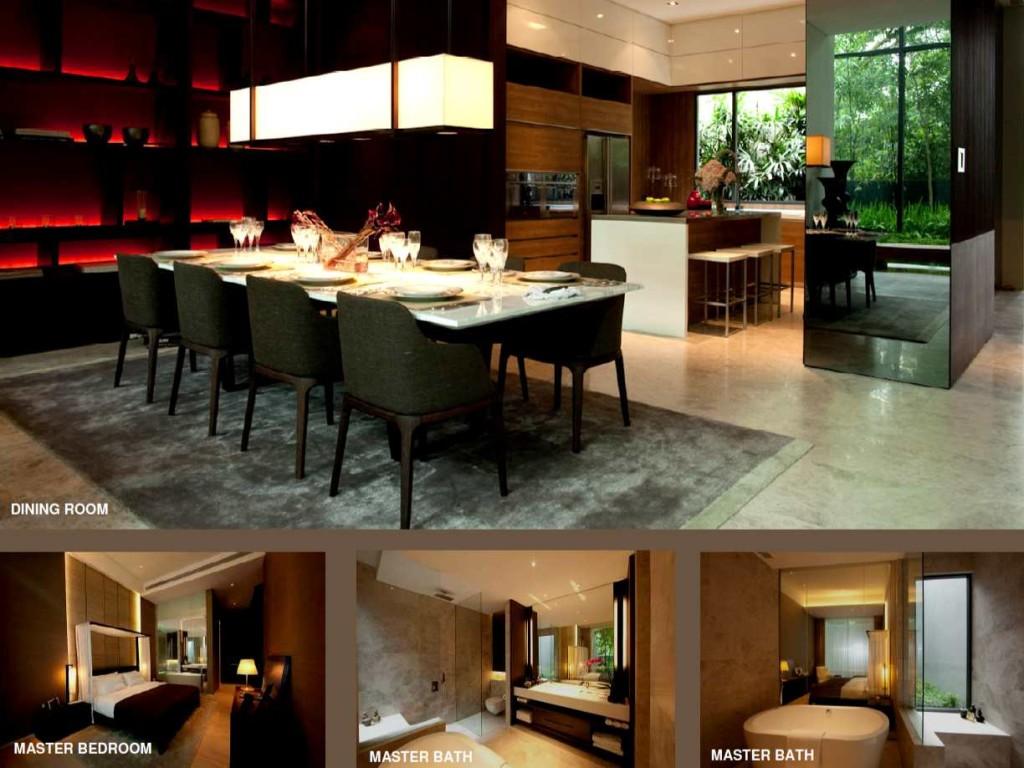 Leedon Residence Dining Room leedon residence Leedon Residence | Showflat Hotline 61007122 | View Actual Unit LeedonResidenceDiningRoom