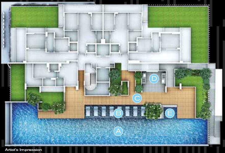 FORTE-SUITES sitemap forte suites Forte Suites Condo @ Rangoon | Showflat Hotline 61007122 Level 05 facilities