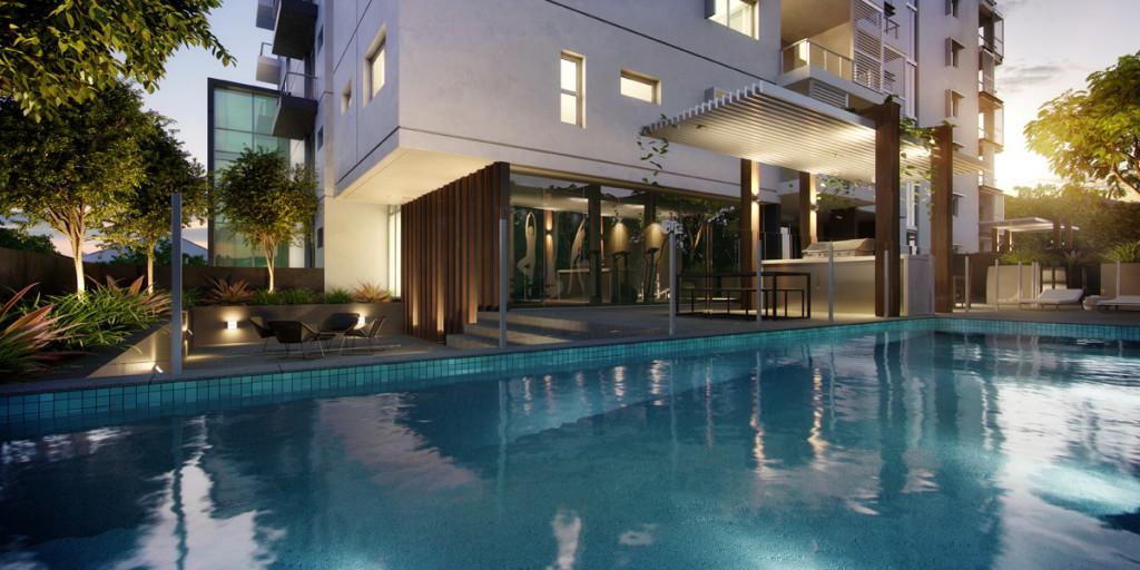 Savoir Faire Residences II Pool savoir faire residences Savoir Faire Residences II - Milton | Brisbane Pool Image sm R002
