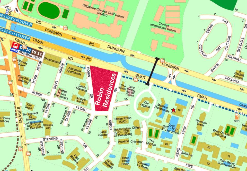 Robin Residences Location