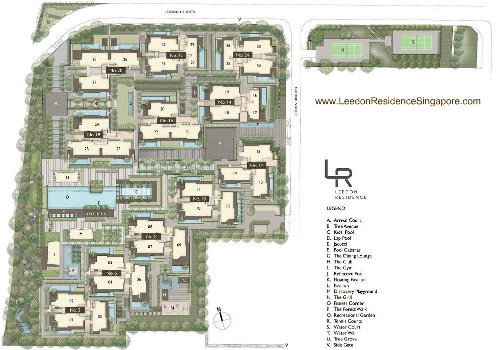 Leedon-Residence-SIte PlanWeb leedon residence Leedon Residence | Showflat Hotline 61007122 | View Actual Unit SIte PlanWeb