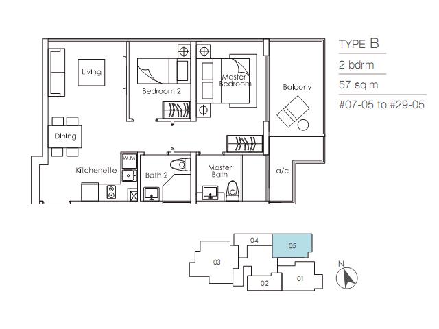 Sky-Suites-17-Floor-Plan-B skysuites 17 SKYSUITES 17 @ Balestier | Showflat Hotline 61007122 Sky Suites 17 Floor Plan B