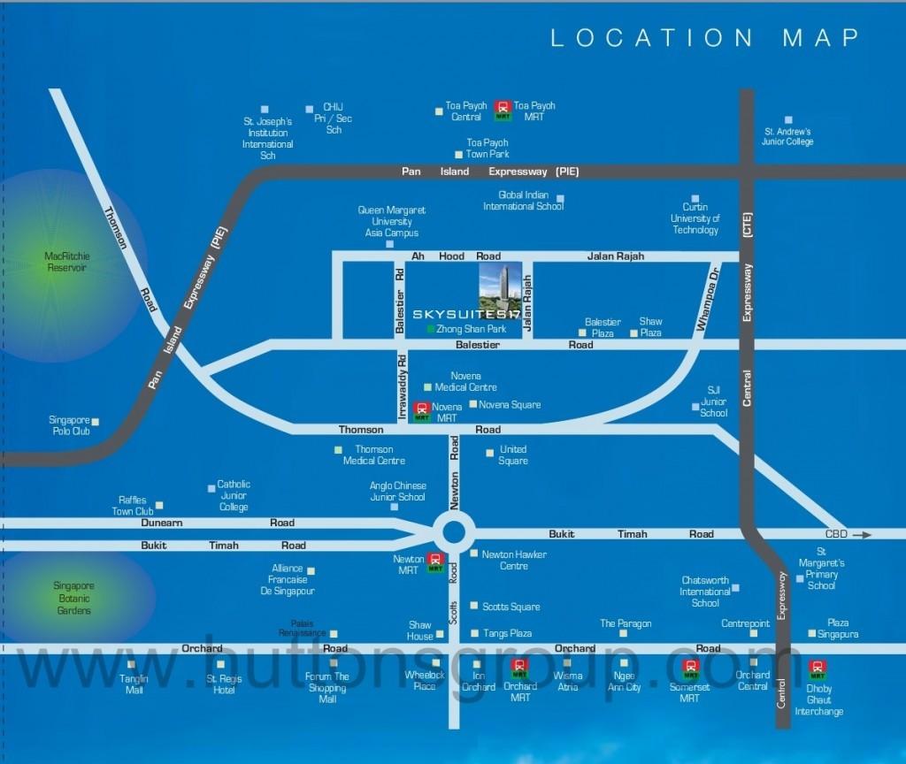 SkySuites17-Location skysuites 17 SKYSUITES 17 @ Balestier | Showflat Hotline 61007122 SkySuites17 Location