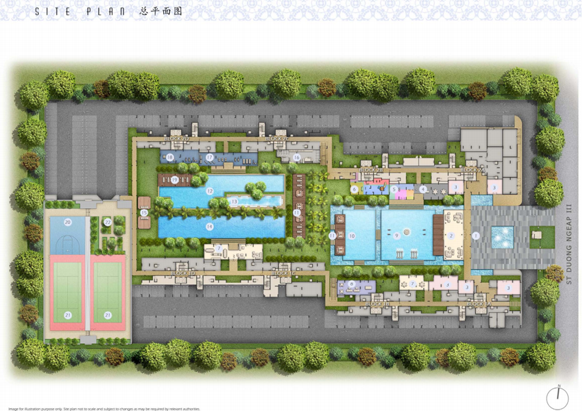 axis-residences-cambodia-site-plan axis residences cambodia Axis Residences Cambodia | Showflat Hotline +65 61007122 axis residences site plan