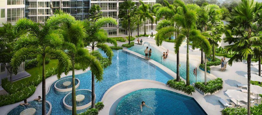 the-trilinq-pool-area the trilinq THE TRILINQ @ CLEMENTI  | Showflat Hotline 61007122 the trilinq pool area