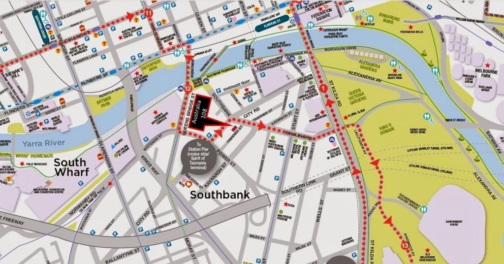 Australia-108 Location-Map australia 108 Australia 108 @ Melbourne Showflat Hotline +65 97555202 Australia 108 Location Map