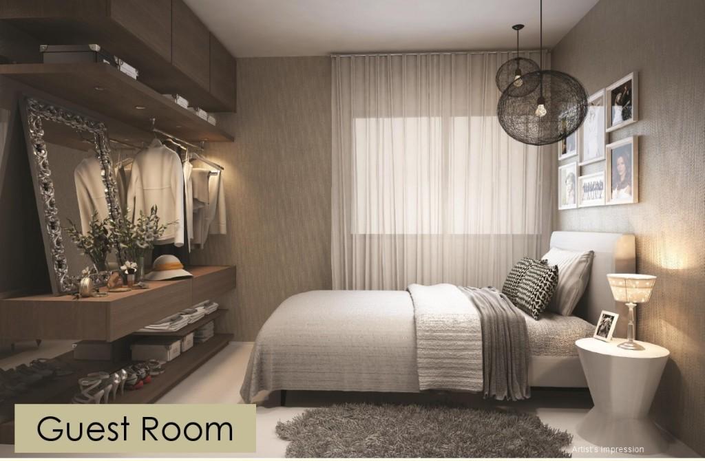 Guest Room belle woods Belle Woods EC | Showflat Hotline +65 97555202 Bellewoods EC 3