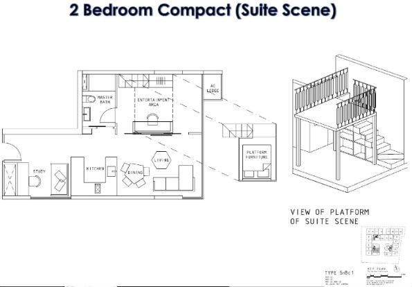Showflat Floor Plan