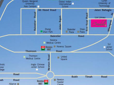 CRADLES-location cradels Cradels | Singapore CRADLES locmap