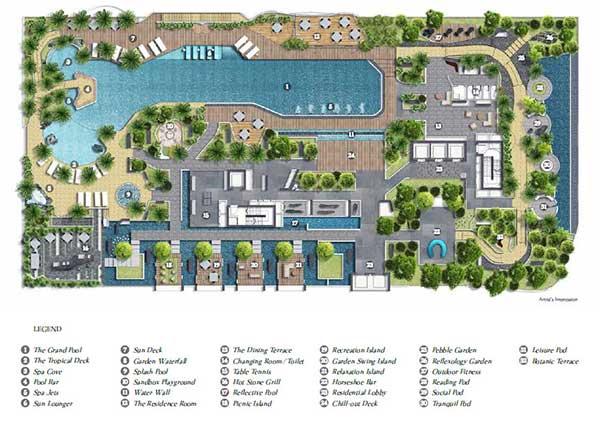 Citygate Residences SitePlan citygate CityGate | Showflat Hotline +65 6100 7122 | Next to MRT And BUGIS Citygate Sitemap