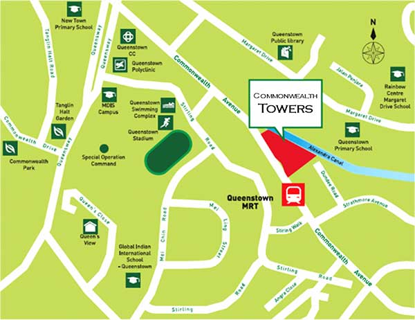 Commonwealth-Towers-Location-Map commonwealth towers Commonwealth Towers | Showflat Hotline +65 6100 7122 | Developer Sales Commonwealth Towers Location Map
