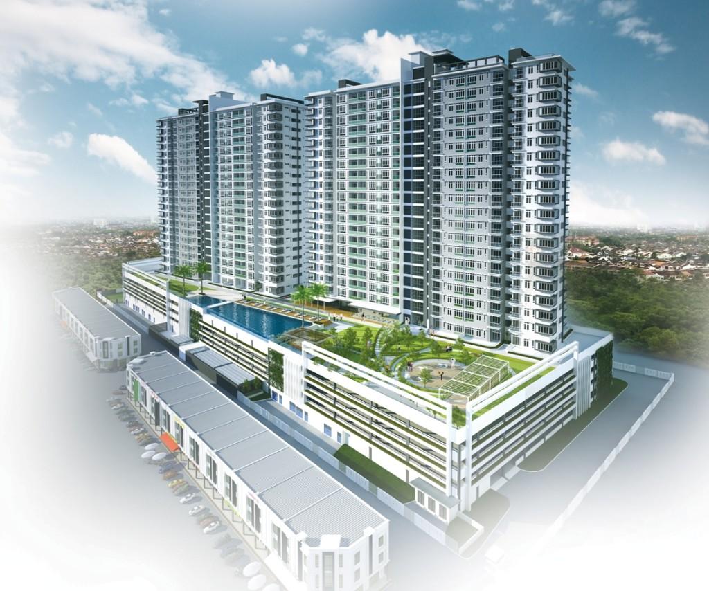 DInspire-Residence-Dayscene d'inspire residence D'Inspire Residences Malaysia | Showflat Hotline +65 6100 7122 DInspire Residence Overall Dayscene