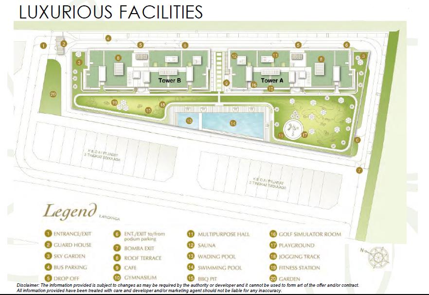 d'inspire residence-site-Plan d'inspire residence D'Inspire Residences Malaysia | Showflat Hotline +65 6100 7122 DInspire Residence site map