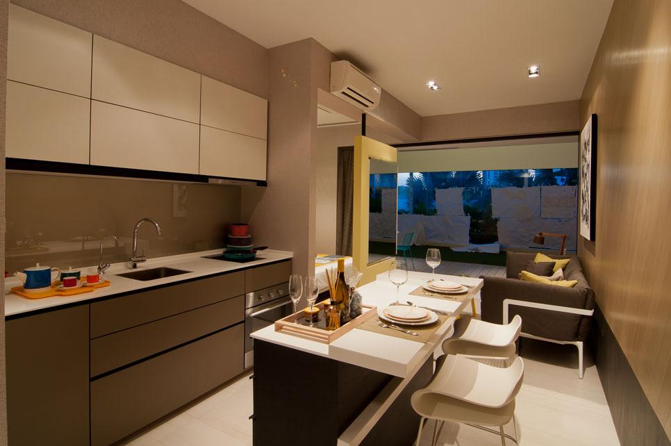 D'Nest Kitchen d nest d nest Showflat | Showflat Hotline +65 6100 7122 | CDL Pasir Ris Condo DSC 9100