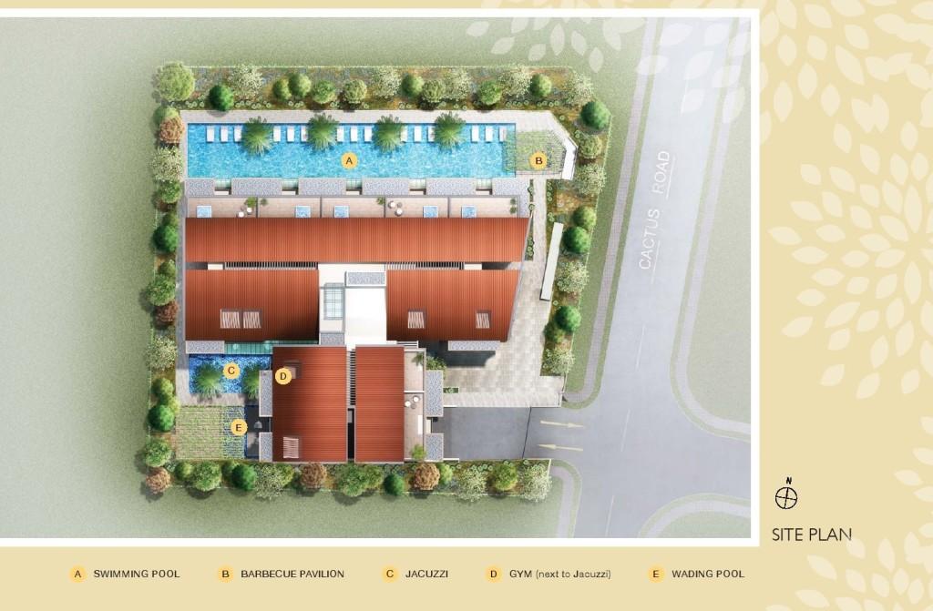 Floraville-@-Cactus-Road-site-plan floraville Floraville @ Cactus Road | Showflat Hotline +65 6100 7122 Floraville   Cactus Road site plan