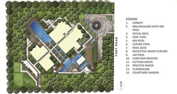 Site Plan fulcrum Fulcrum | Showflat Hotline +65 97555202 Fulcrum   Fort Road Sitemap