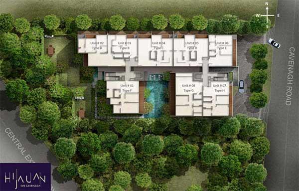 Hijauan-Site-plan hijauan @ cavenagh Hijauan @ Cavenagh | Showflat Hotline +65 6100 7122 Hijauan Sitemap1