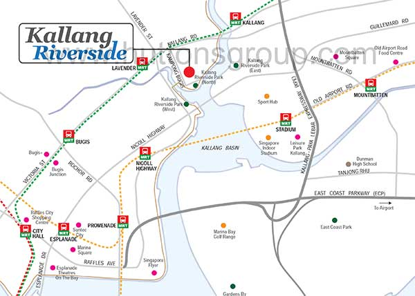 Kallang-Riverside-Location-Map kallang riverside Kallang Riverside | Showflat Hotline +65 6100 7122 Kallang Riverside Location Map