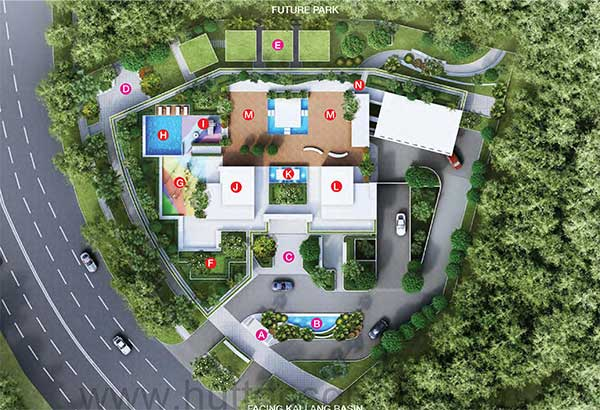 Kallang-Riversite-Site Plan kallang riverside Kallang Riverside | Showflat Hotline +65 6100 7122 Kallang Riversite Plan