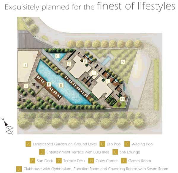 Marina Bay Suites Sitemap