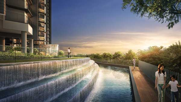 Pool riverbank Riverbank | Showflat Hotline +65 97555202 Riverbank Pool