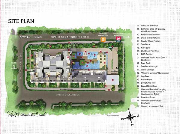 Sant-Ritz-Siteplan sant ritz Sant Ritz | Singapore Sant Ritz Sitemap
