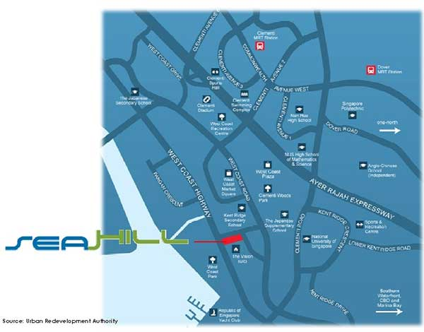 Showflat-Location-Map seahill Seahill  | Showflat Hotline +65 6100 7122 Seahill Location Map