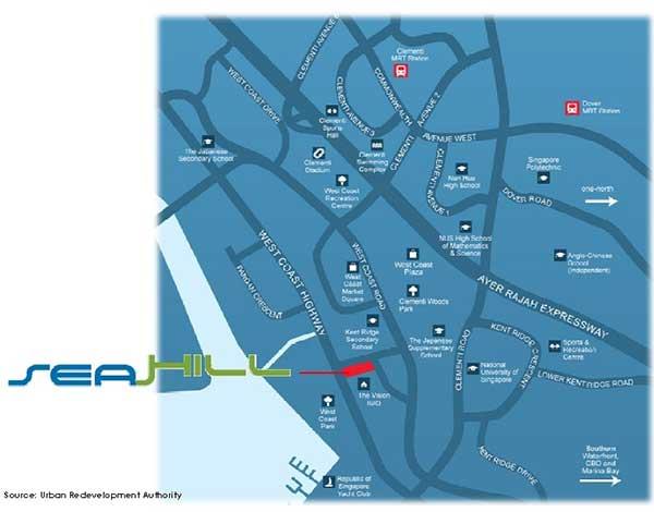 Showflat-Location-Map