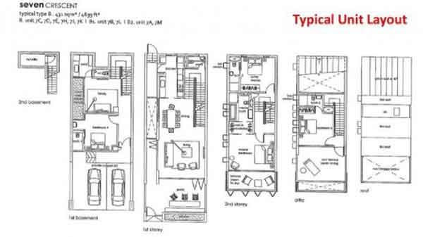 Seven-Crescent-Floor-Plans seven crescent Seven Crescent | Showflat Hotline +65 6100 7122 Seven Crescent Floor Plans