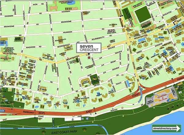 Seven-Crescent-Location seven crescent Seven Crescent | Showflat Hotline +65 6100 7122 Seven Crescent Location
