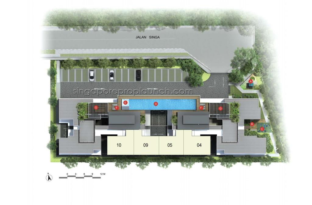 SingaHIlls-Site-Plan singahills SingaHills @ Jalan Singa | Singapore Singa HIlls Site Plan