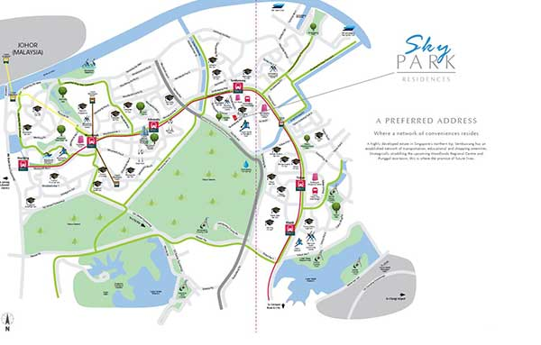 Skypark-Residences Location-Map skypark residences Skypark Residences EC | Showflat Hotline +6597555202 Skypark Residences Location Map