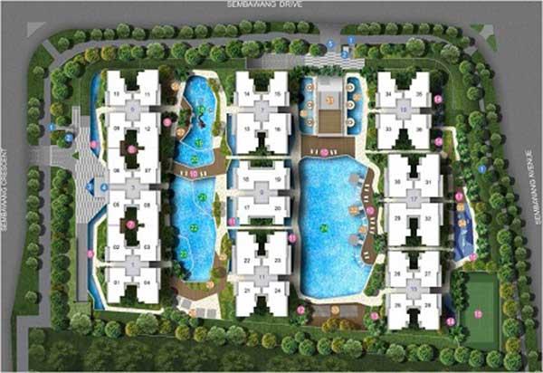 Skypark-Residences siteplan skypark residences Skypark Residences EC | Showflat Hotline +6597555202 Skypark Residences sitemap