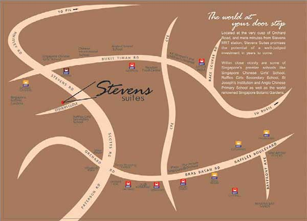 Steven-Suites-Location stevens suites Stevens Suites | Showflat Hotline +65 6100 7122 Steven Suites Location1