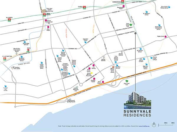 Sunnyvale-Residences-Location-Map sunnyvale residences Sunnyvale Residences | Singapore Sunnyvale Residences Location Map