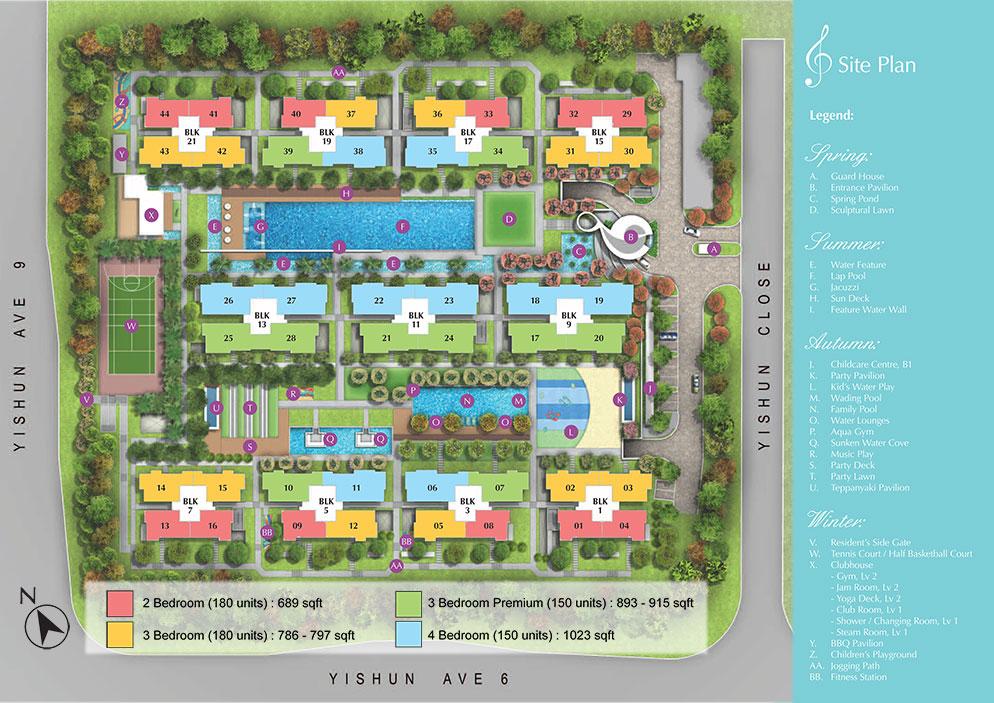 SymphonySuites-Site-Plan symphony suites Symphony Suites | Singapore SymphonySuites Site Plan