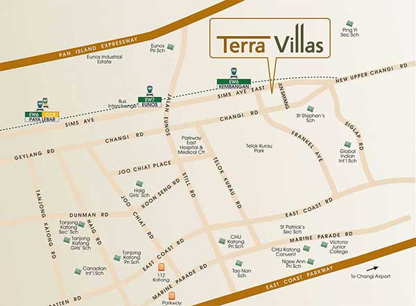 Terra-Villas-Location-Map terra villas @ kembangan Terra Villas @ Kembangan | Showflat Hotline +65 6100 7122 Terra Villas Location Map