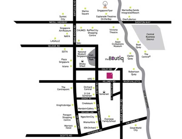 The-Boutique-@-Killiney-Location-Map the boutiq The Boutiq | Singapore The Boutique   Killiney Location Map